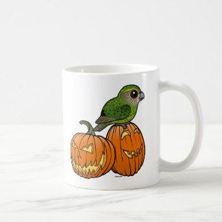 Kakapo Halloween Basic White Mug