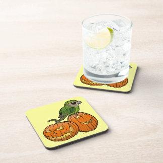 Kakapo Halloween Coasters