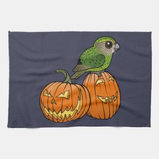 Kakapo Halloween Kitchen Towel