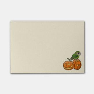 Kakapo Halloween Post-it® Notes