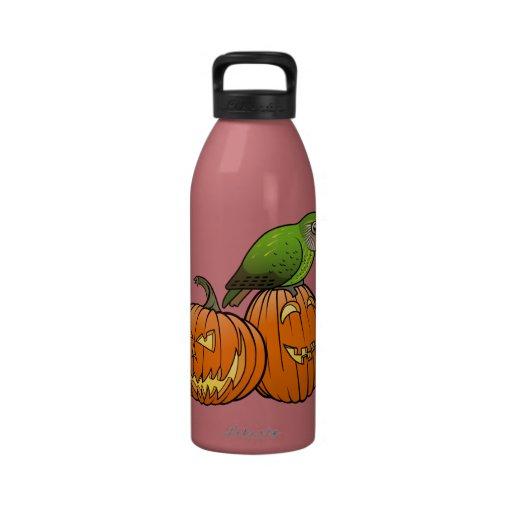 Kakapo Halloween Reusable Water Bottle