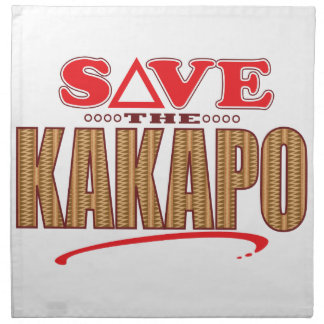 Kakapo Save Napkin