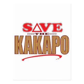 Kakapo Save Postcard