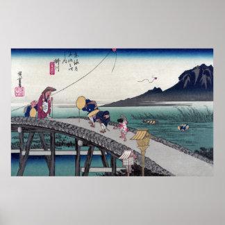 Kakegawa Ando Hiroshige Print