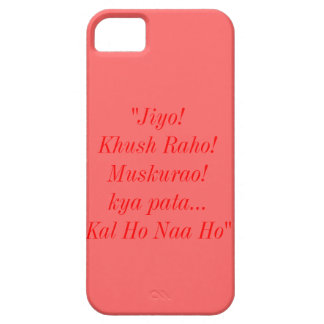 Kal Ho Naa Ho Quote iPhone 5S Barely There Case