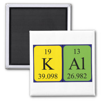 Kal periodic table name magnet