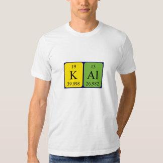 Kal periodic table name shirt