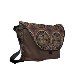 Kalachakra Mandala A Messenger Bag