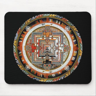 Kalachakra Mandala Mouse Mat