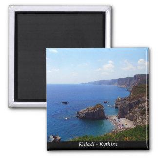 Kaladi -Kythira Square Magnet