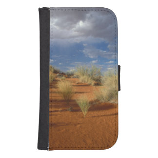 Kalahari Desert Scene, Kgalagadi Transfrontier 2 Samsung S4 Wallet Case
