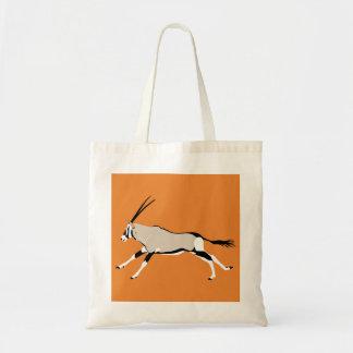 Kalahari Gemsbok antelope tote bag
