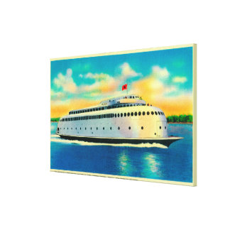 Kalakala Ferry, World's First Streamlined Canvas Print