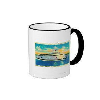 Kalakala Ferry, World's First Streamlined Ringer Mug