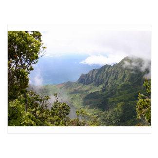 Kalalau Lookout design Postcard
