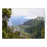 Kalalau Lookout Greeting Card