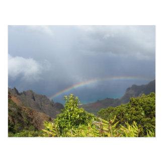 Kalalau Rainbow Postcard
