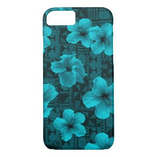 Kalalau Tapa Tropical Hawaiian Hibiscus iPhone 8/7 Case