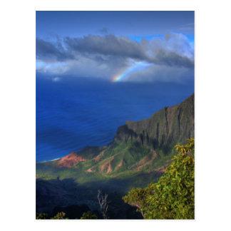 Kalalau Valley in Kauai Postcard