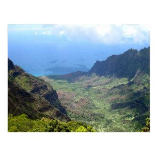 Kalalau Valley, Kauai, Hawaii Postcard