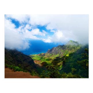Kalalau Valley Vista Postcard