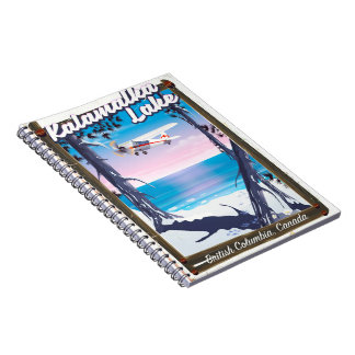 kalamalka lake, British Columbia Canada Notebook