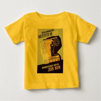 Kalamazoo Institute of Arts  - WPA Poster - Baby T-Shirt