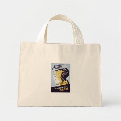 Kalamazoo Institute of Arts  - WPA Poster - Bags