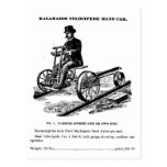 KALAMAZOO Velocipede Railroad Hand Car 1887