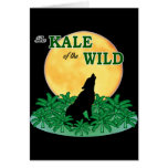 Kale of the Wild Greeting Card