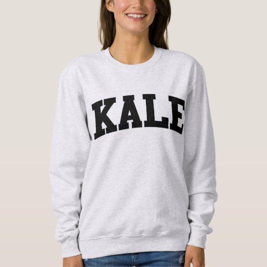 Kale University Funny Crewneck Sweatshirt