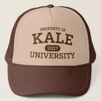 Kale University Vegan Vegetarian Trucker Hat