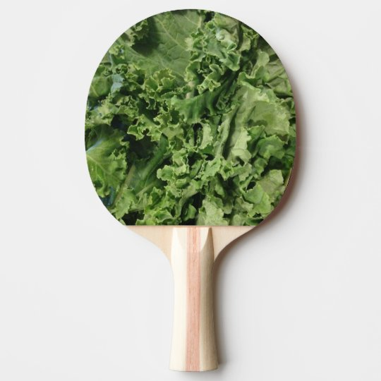 Kale Vegan Ping Pong Paddle