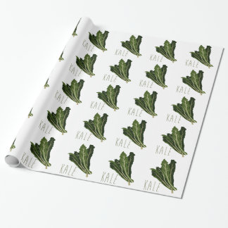Kale Wrapping Paper