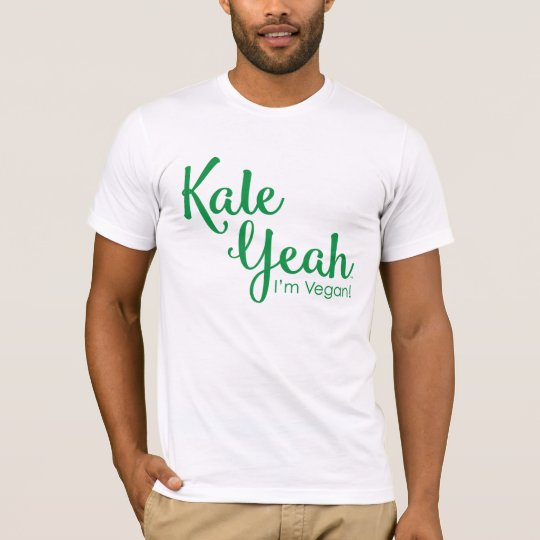 Kale Yeah I'm Vegan Men's T-Shirt