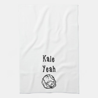 Kale Yeah Towel