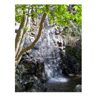 Kaledonia waterfalls at Cyprus Postcard