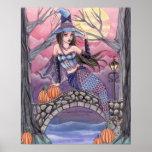 Kalei - Halloween Mermaid Poster