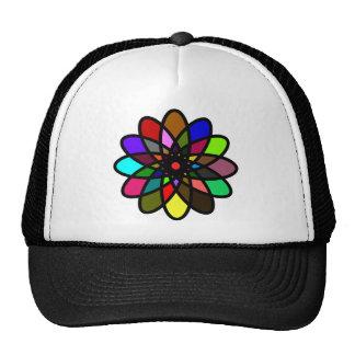 Kaleidescope Starburst, Multi-Color Cap