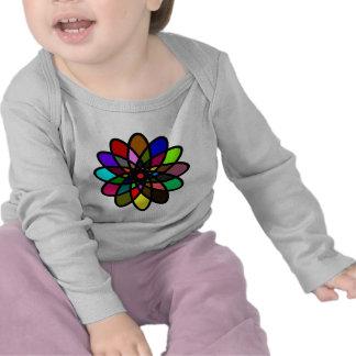 Kaleidescope Starburst, Multi-Color Tee Shirt