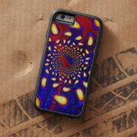 KaleidoBerries Psychedelic Fused Glass Fractal iPhone 6 Case