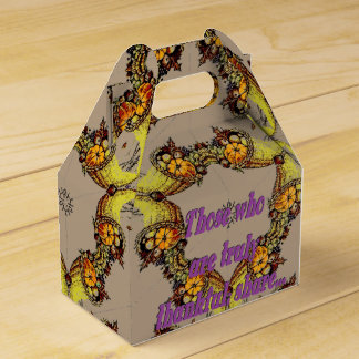 Kaleidocopia Wedding Favour Box