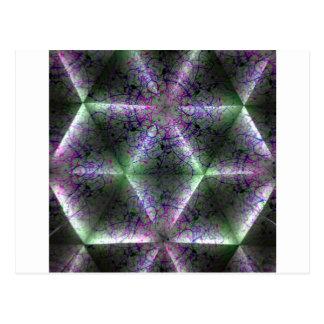 kaleidoscope 16 postcard