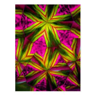 kaleidoscope 19 postcard