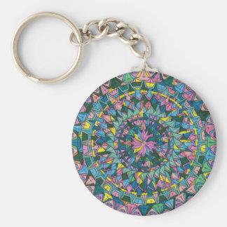 Kaleidoscope 1 Keychain