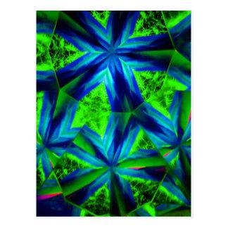 kaleidoscope 24 postcard
