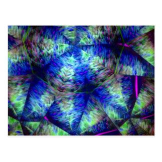 kaleidoscope 25 postcard