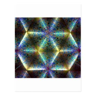 kaleidoscope 34 postcard