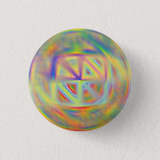 Kaleidoscope 3 Cm Round Badge