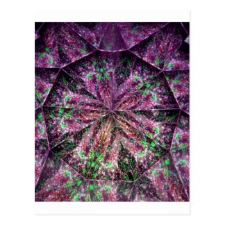 kaleidoscope 40 postcard